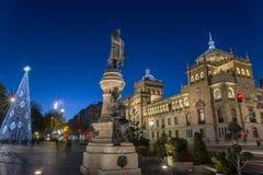 Valladolid, academia de caballería Fotos de archivo