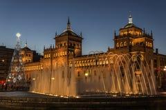 Valladolid, accademia di cavalleria Immagine Stock