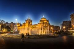 Valladolid, accademia di cavalleria Fotografia Stock Libera da Diritti