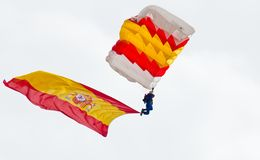 Valladolid Armed Forces Day 04 Stock Images