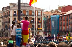 Valladolid Armed Forces Day 05 Stock Images
