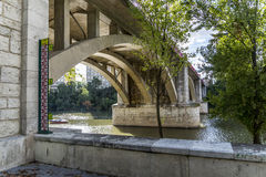 Valladolid, bridge Regeral Royalty Free Stock Photography