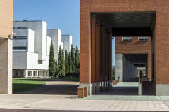 Valladolid campus Royalty Free Stock Images