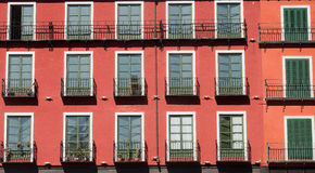 Valladolid Castiglia y Leon, Spagna: Sindaco della plaza Immagini Stock Libere da Diritti