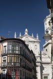 Valladolid Castilla y Leon, Spain: buildings Stock Image