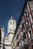 Valladolid Castilla y Leon, Spain: buildings Stock Photography