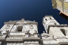 Valladolid Castilla y Leon, Spain: cathedral Stock Image