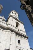 Valladolid Castilla y Leon, Spain: cathedral Royalty Free Stock Photo