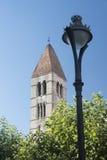 Valladolid Castilla y Leon, Spain: church of Santa Maria Antig Royalty Free Stock Images