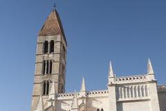 Valladolid Castilla y Leon, Spain: church of Santa Maria Antig Royalty Free Stock Image
