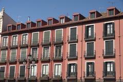 Valladolid Castilla y Leon, Spain: Plaza Mayor Stock Images