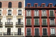 Valladolid Castilla y Leon, Spain: Plaza Mayor Royalty Free Stock Photos