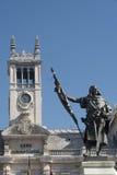 Valladolid Castilla y Leon, Spain: Plaza Mayor Royalty Free Stock Photography