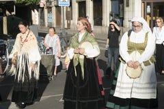 Valladolid Castilla y Leon, Spain: procession of Santiago Stock Image