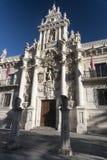 Valladolid Castilla y Leon, Spain: University Royalty Free Stock Photos