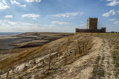 Valladolid, Castle Tiedra Royalty Free Stock Photography