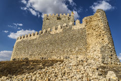 Valladolid, Castle Tiedra Stock Photography