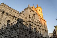 Valladolid, cathedral Stock Photo