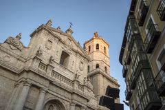 Valladolid, cathedral Royalty Free Stock Photo