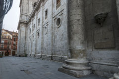 Valladolid, cathedral Stock Image