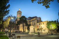 Valladolid cathedral. Diocesan cathedral of Valladolid, Spain Royalty Free Stock Photos