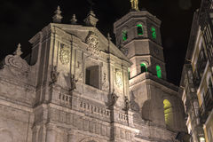Valladolid, cathedral Stock Photos