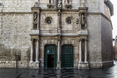 Valladolid church Royalty Free Stock Photography