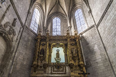 Valladolid Church of San Benito Royalty Free Stock Photography