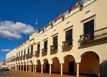 Valladolid city of Yucatan Mexico Stock Images