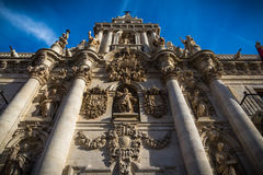 Valladolid city. Valladolid, historical and cultural city, Spain Royalty Free Stock Images