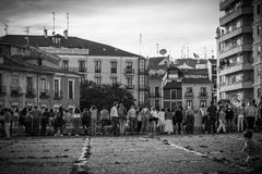 Valladolid city Stock Image