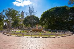 Valladolid city of Yucatan Mexico Royalty Free Stock Images