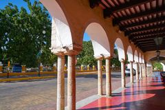 Valladolid city of Yucatan Mexico Stock Photos