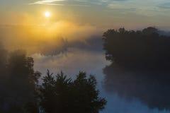 Valladolid, dawn Stock Image