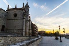 Valladolid, dawn Stock Photo