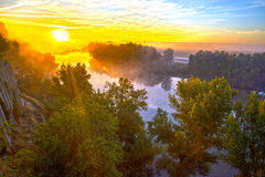 Valladolid, dawn Stock Photography