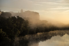 Valladolid, dawn Royalty Free Stock Images