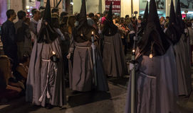 Valladolid Good Friday Night 2014 12 Royalty Free Stock Photography