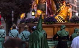 Valladolid Good Friday Night 2014 02 Royalty Free Stock Photography