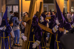 Valladolid Good Friday Night 2014 05 Stock Photo