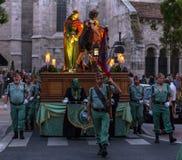 Valladolid Good Friday Night 2014 01 Stock Photo