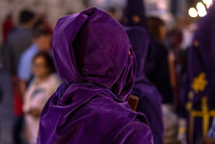 Valladolid Good Friday Night 2014 04 Royalty Free Stock Photo