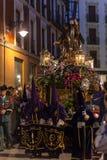 Valladolid Good Friday Night 2014 06 Royalty Free Stock Photos