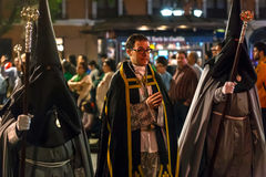 Valladolid Good Thursday Night 2014 15 Royalty Free Stock Image