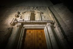 Castilian ancient city of Valladolid Stock Images