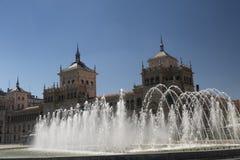 Valladolid Hiszpania: fontanna Obrazy Stock