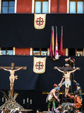 Valladolid Holy Week Stock Photo