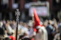 Valladolid Holy Week Royalty Free Stock Photos