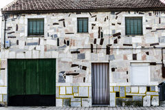 Valladolid, house Stock Photo