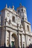 Valladolid-Kathedrale stockbild